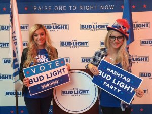 bud lite girls tw apr 16