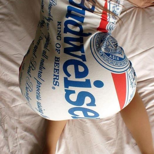 budweiser backside