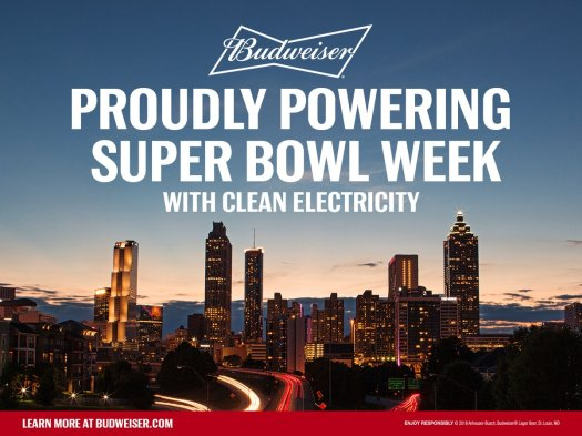 budweiser powering bowl week