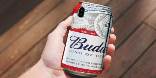 budweiser retweets