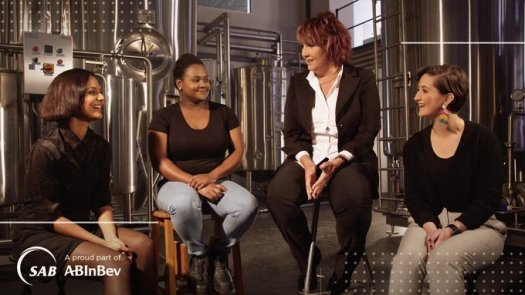 SA breweries what it means to be a woman