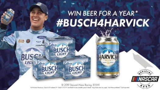 busch harvick