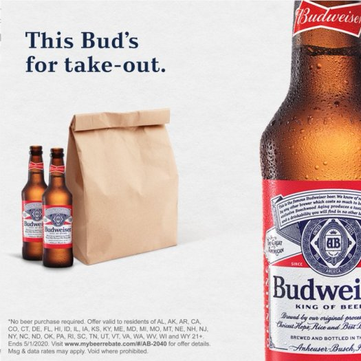 budweiser cash back