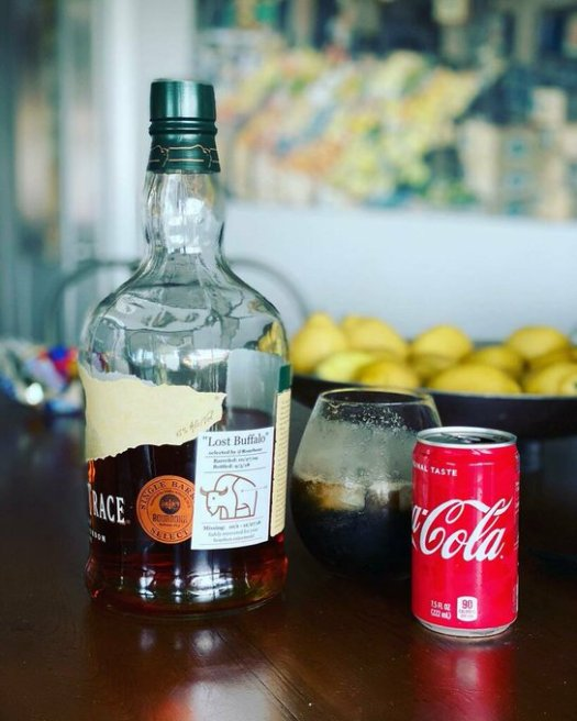 buffalo trace and coca cola